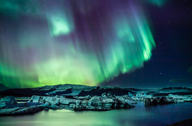 Beautiful Iceland In March 2014 A Video Of The Aurora
