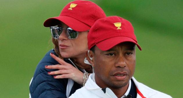Tiger Woods og Erica Herman